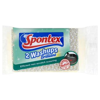 Washups Brilliant Sponge Scourers