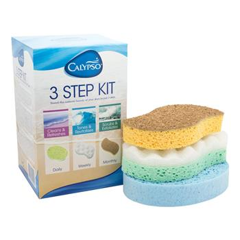 Calypso 3 Step Kit Body Sponges