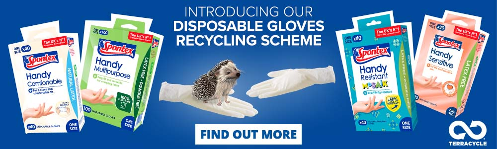 Recycle Disposable Gloves Category Banner
