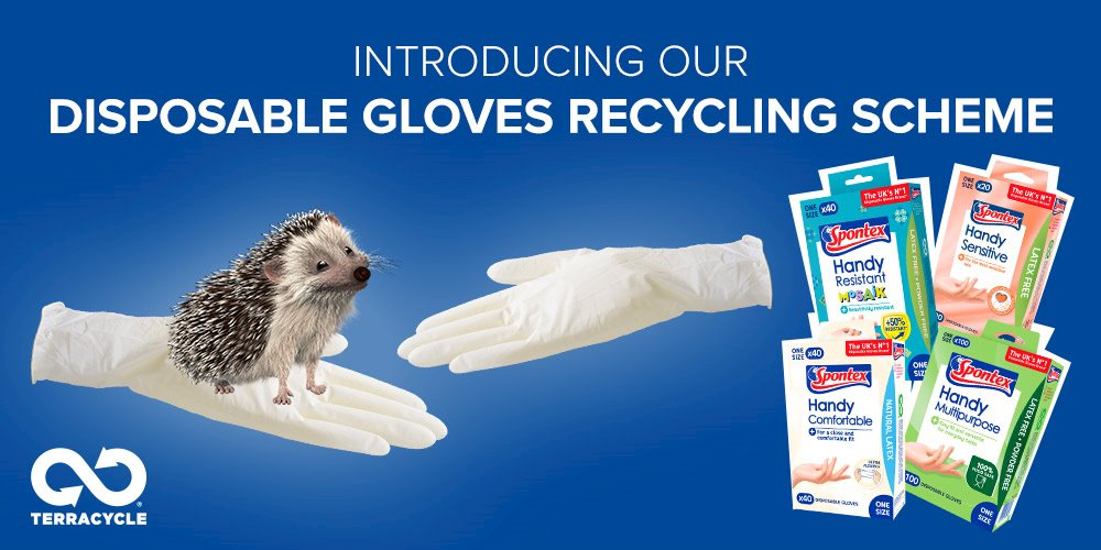 Recycle disposable gloves!