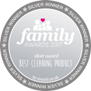 Family Awards - Silver winner for the Best Cleaning product