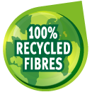 100% Recycled Fibres