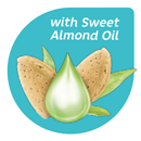 With Sweet Almond Oil