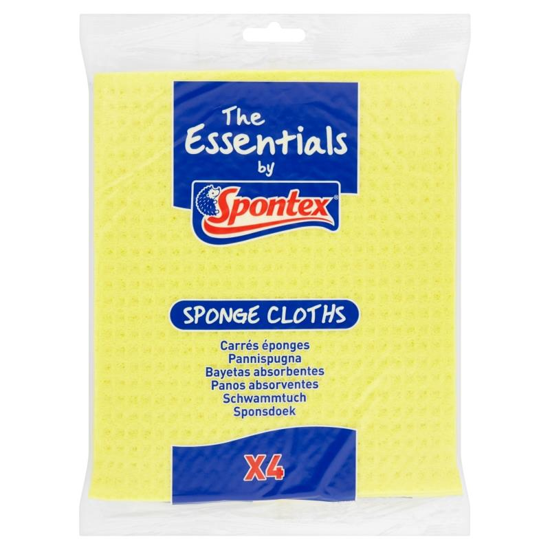 Essentials 4 Sponge Cloths