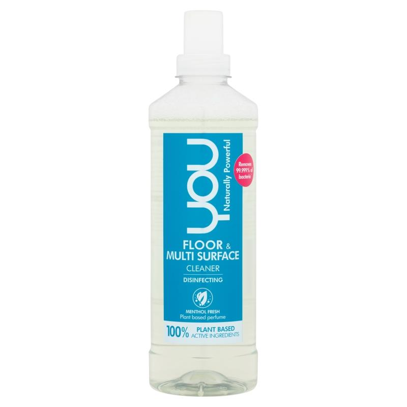 YOU Floor & Multi Surface Cleaner Menthol Fresh 1l