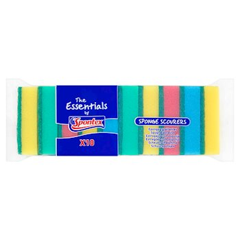 Essentials Sponge Scourers
